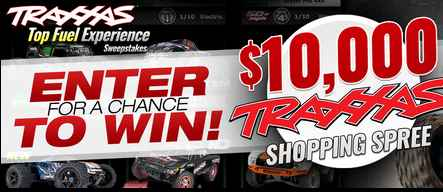 Traxxas Top-Fuel Experience Sweepstakes