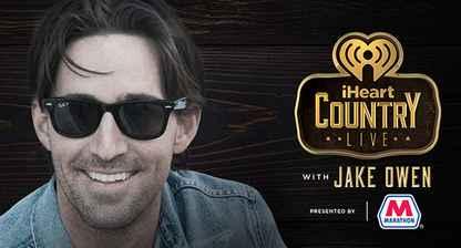 iHeartRadio LIVE with Jake Owen Sweepstakes