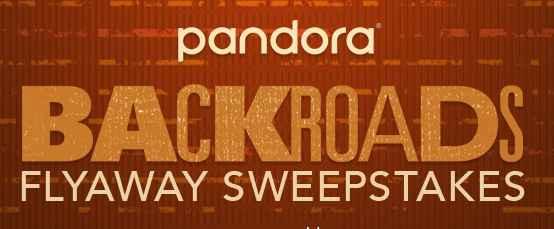Amica Pandora Backroads Flyaway Sweepstakes