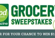 Food Network Magazine Grocery Sweepstakes