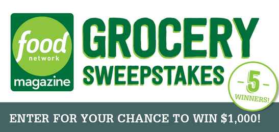Food Network Magazine Grocery Sweepstakes