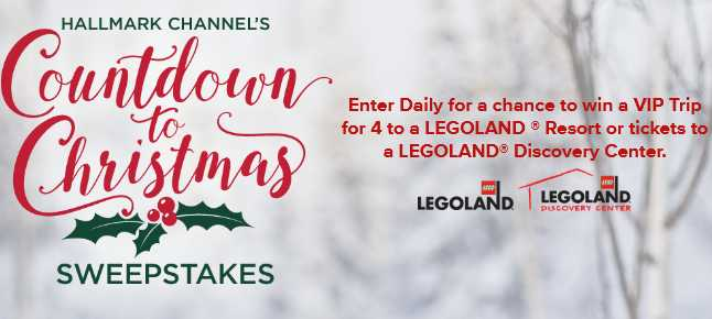 Hallmark Channel Countdown to Christmas Sweepstakes