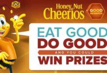 Honey Nut Cheerios Good Rewards Program Sweepstakes