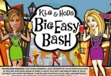 KLG and Hoda Big Easy Bash Contest