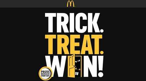 McDonald's Trick Treat Win Game