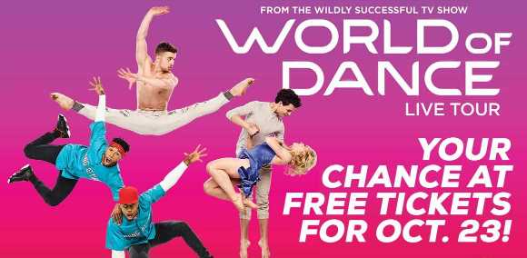NBC World of Dance Tour Sweepstakes