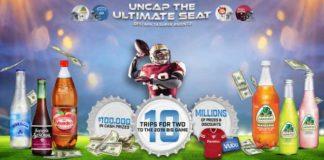 Novamex Uncap The Ultimate Seat Instant Win Game