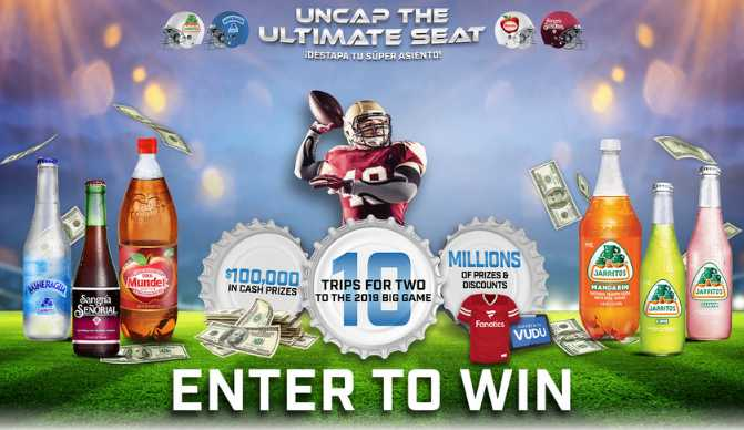 Novamex Uncap The Ultimate Seat Instant Win Game