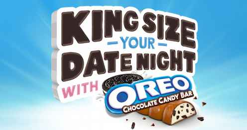 OREO Chocolate Candy Bar Date Night Sweepstakes