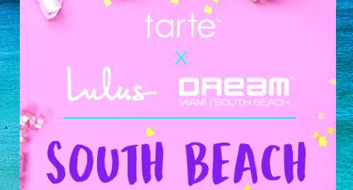 Tarte South Beach Bound Sweepstakes