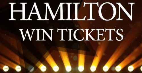 WRAL Morning News Hamilton Tickets Sweepstakes