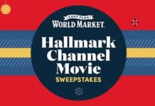 World Market Hallmark Channel Movie Sweepstakes