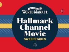 World Market Hallmark Channel Movie Sweepstakes