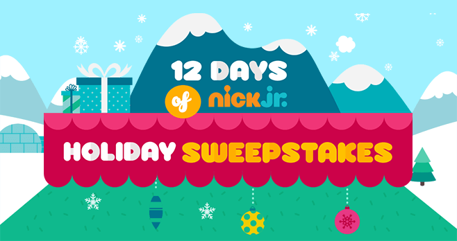 Nick Jr Holiday Sweepstakes