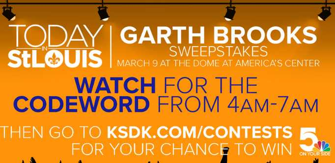 KSDK Garth Brooks Contest