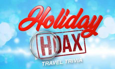 Kelly and Ryan Holiday Hoax Travel Trivia Sweepstakes