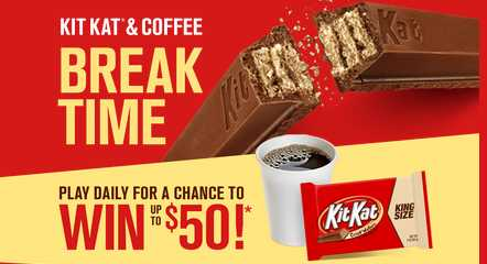 Kit Kat Break Time Game