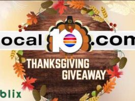 Local 10 Thanksgiving Giveaway Contest