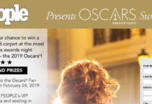 PEOPLE Oscars Fan Experience Sweepstakes