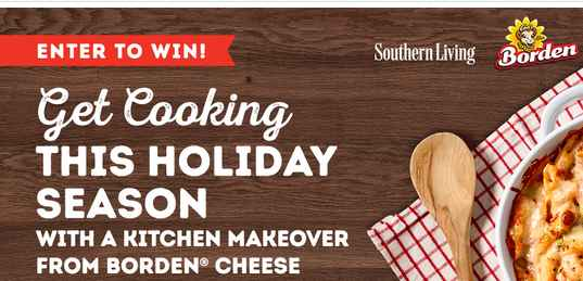 Southern Living Borden Love Your Kitchen Sweepstakes