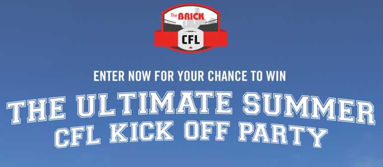 The Brick Grey Cup Party Contest