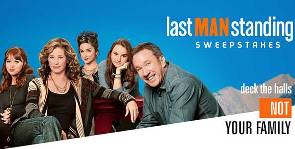 Twentieth Television Last Man Standing Sweepstakes