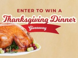 WRIC Thanksgiving Dinner Giveaway Contest