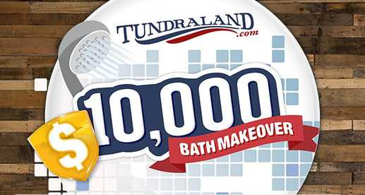 Wearegreenbay Tundraland $10,000 Bath Makeover Giveaway