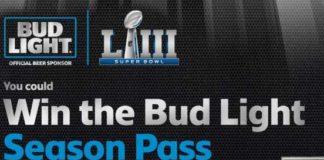 Bud Light Season Pass Sweepstakes Contest