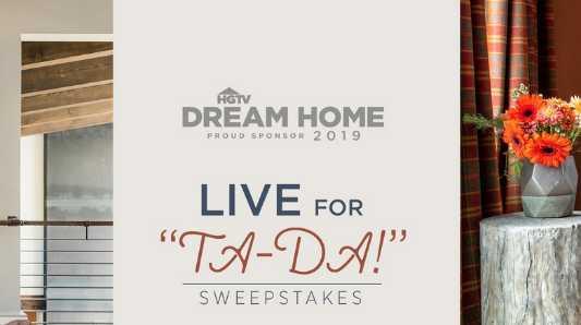 HGTV Live for Ta da Sweepstakes
