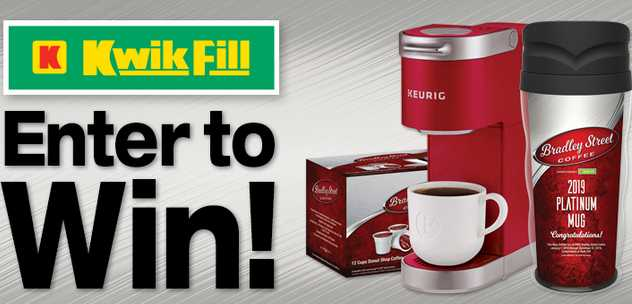 Kwik Fill Bradley Street Coffee Giveaway