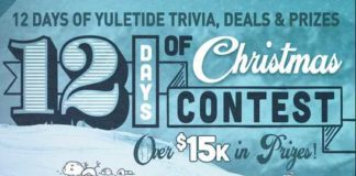 Road ID 12 Days Of Christmas Contest