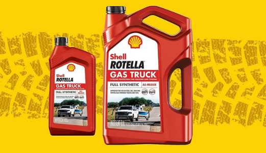 Autozone Shell Rotella Gas Truck Sweepstakes