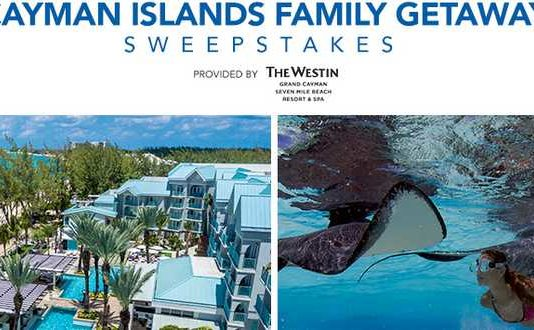 Good Housekeeping Cayman Islands Getaway Sweepstakes