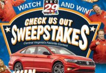 NBC29 Check Us Out Sweepstakes 2019