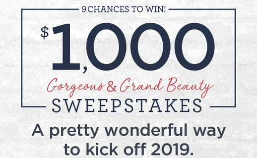 QVC Gorgeous & Grand Beauty Sweepstakes