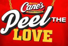 Raising Cane's Peel The Love Game