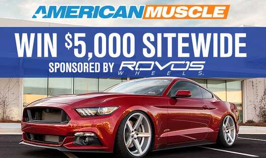 American Muscle Rovos Giveaway