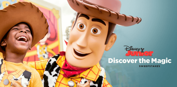 Disney Junior Discover The Magic Sweepstakes 2019