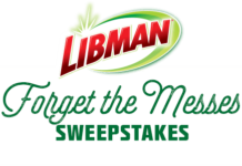 HGTV Lidman Forget the Messes Sweepstakes