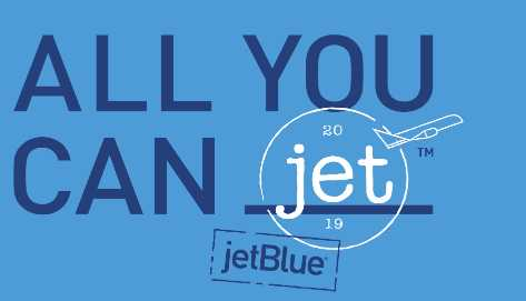 JetBlue All You Can Jet Sweepstakes