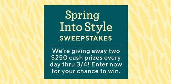 QVC Spring Into Style Sweepstakes
