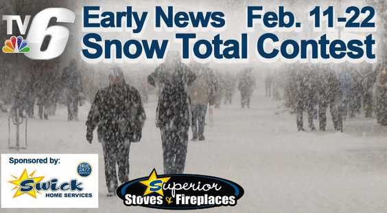 WLUC TV6 Snow Total Contest