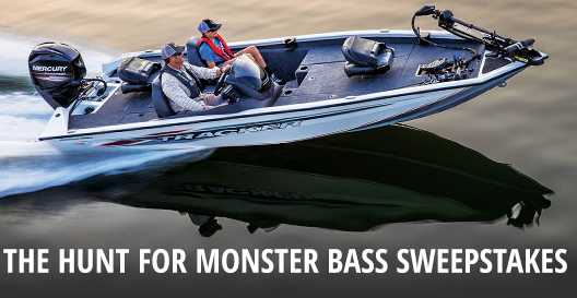 Bass Pro Shops Hunt For Monster Bass Sweepstakes