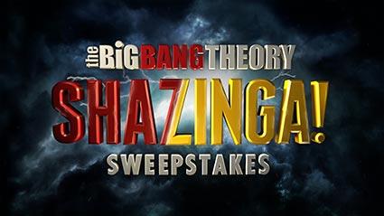 Big Bang Theory Shazinga Sweepstakes