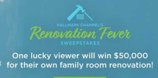Hallmark Channel Spring Renovation Sweepstakes