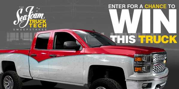 PowerNation TV Sea Foam Truck Tech Sweepstakes