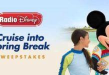 Radio Disney Cruise Into Spring Break Sweepstakes