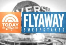 TODAY Cafe Flyaway Sweepstakes