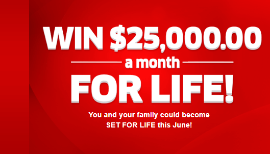 PCH Win $25,000 A Month For Life Sweepstakes
